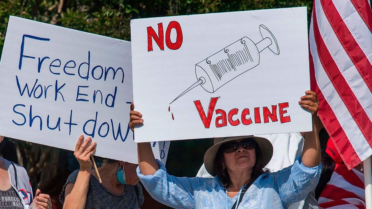 Only Half of Americans Say They'll Get Vaccinated For Covid-19 According to New Poll