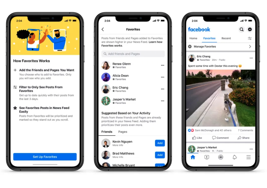 Facebook makes it easier for users to see News Feed stories in chronological order
