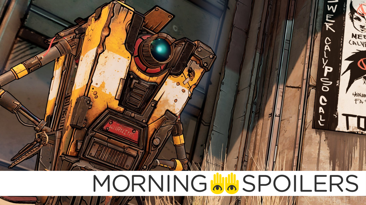 Borderlands Movie Wraps Filming, Teases First Look at Claptrap